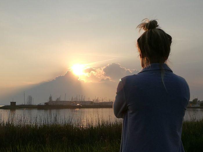 Walk with the one you love Enjoying Life Love ♥ Genieten Sunset