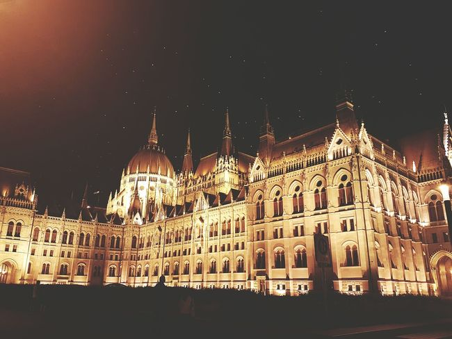 The parliament of Budapest Architecture Parliament Parliament Building Night Nightphotography Birdsflyinghigh Majestic Cityphotography