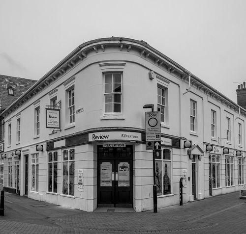 Review, Albert Street, Rugby, Warwickshire FUJIFILM X-T10 Warwickshire Rugbytown Monochrome Black And White Architecture Street