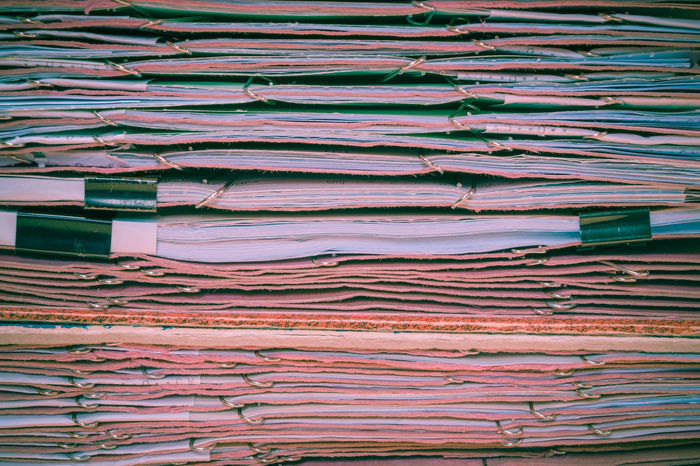 Abundance Backgrounds Close-up Communication Data Day Indoors  Large Group Of Objects Newspaper No People Paper Paperwork Stack The Media