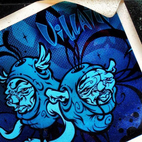 Graffiti Stickers Vilain Shops