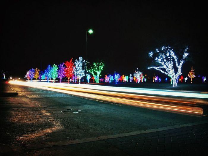 Looking At Xmas Lights