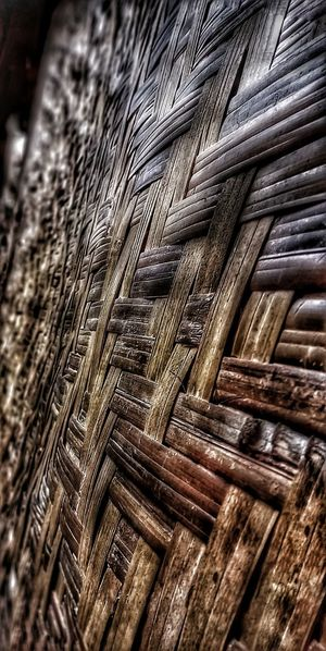 Wooden waven.. Wodden Texture Old House Unique Indonesia Traditional