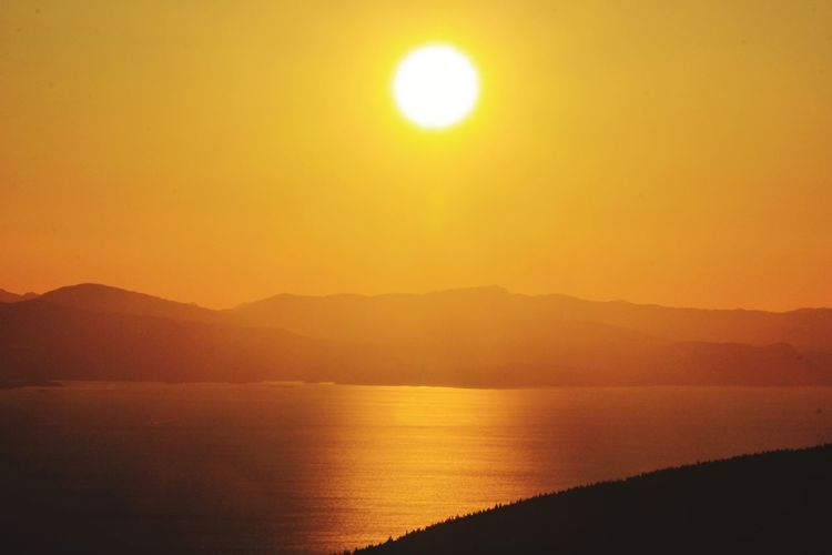 Golden sunset Landscape_Collection Nature_collection Nature Gold Colored Hope Inspirational Inspirations Everywhere. Golden Hour Golden Beautiful Nature Outdoors Nature Mountain Range Seascape Calm Ocean Rocky Mountains Shining Tranquil Scene Countryside Scenics