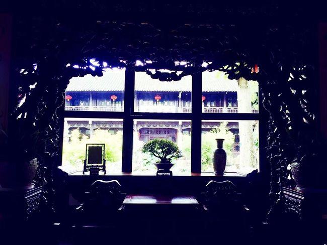 Yangzhou Window Indoors  No People Day Architecture Sky