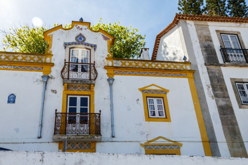 Architecture Building Exterior Built Structure Day House Low Angle View No People Outdoors Residential Building Sky The Architect - 2017 EyeEm Awards Window Óbidos