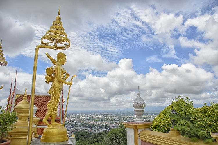 Cloud HDR Monstery Nakhonsawan Sky Sky And Clouds Temple Temple - Building Thailand