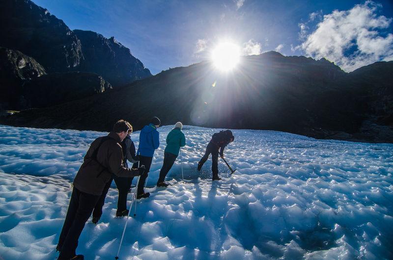 Helihike Fox Glacier South Island New Zealand Glacier