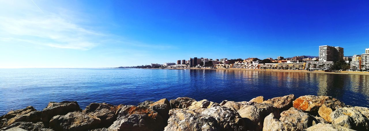 Aguadulce Aguadulce Almería Southernspain Mediterranean  Harbor Sun Reflection Clear Water Sunlight Rocks Building Exterior Sea Outdoors Water Beach Sky Day No People Horizon Over Water Blue Scenics Nature Clear Sky