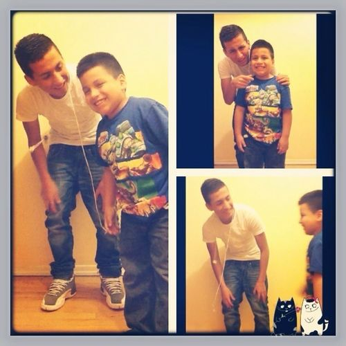 With My Lil Brother