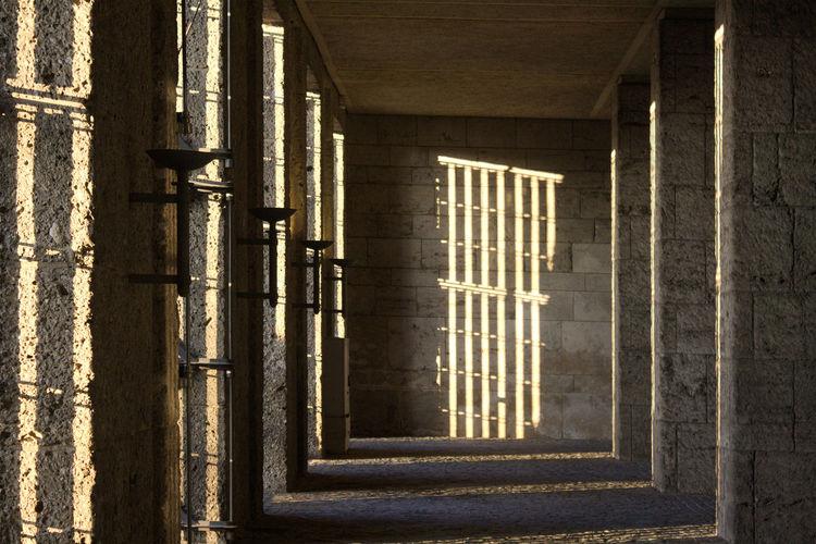 Glockenturm am Maifeld Architectural Detail Architecture Architecture_collection Building Built Structure Light And Shadow Sandstone Sunlight Wall Wall - Building Feature