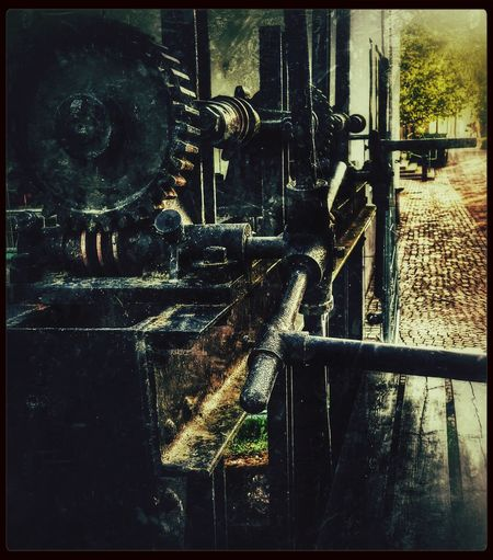 Gears and Levers. With My Love Enjoying Life Vintage Mechanics Snapseed