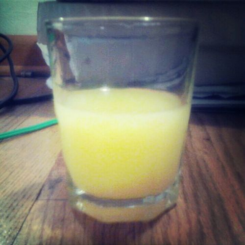 Me&My Drink, jk. Its only Tampico OJ