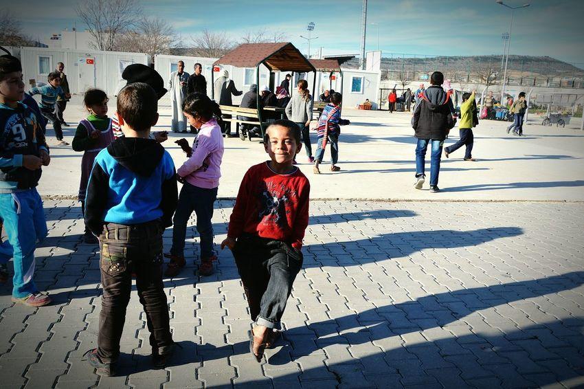 Refugee children from Syrian. O kadar sevgiye ve ilgiye muhtaçlar ki... Children Kilis Nikonphotography Streetphotography Volunteer Turkey Syrian People Capturing Freedom