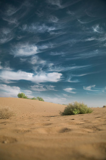 Cloud - Sky Desert Land Landscape Nature No People Sand Scenics - Nature Sky