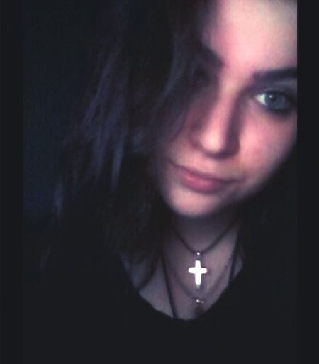 First Eyeem Photo In The Dark Vampire Girl Enjoying Life Green Eyes Sweet Candy Girl That's Me Love Where Is My Mind? LOL All The Love In The World