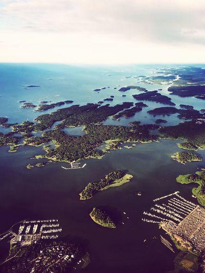 Helsinki Archipelago Finland Aerial Summer