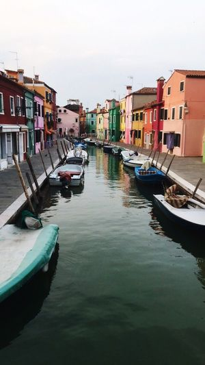 Burano, Italy Coloredhouses