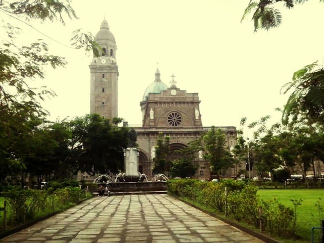 5MP Alcatel One Touch 5021E Intramuros Manila Cathedral Mobile Photography Biking By… Architecture