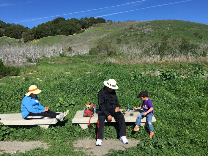 Picnic Avila Beach CA Bob Jones Trail Nature Hiking Outdoors People