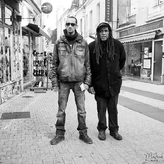 Portraits des frères Youssef & Harry. Chatellerault Omd Olympus