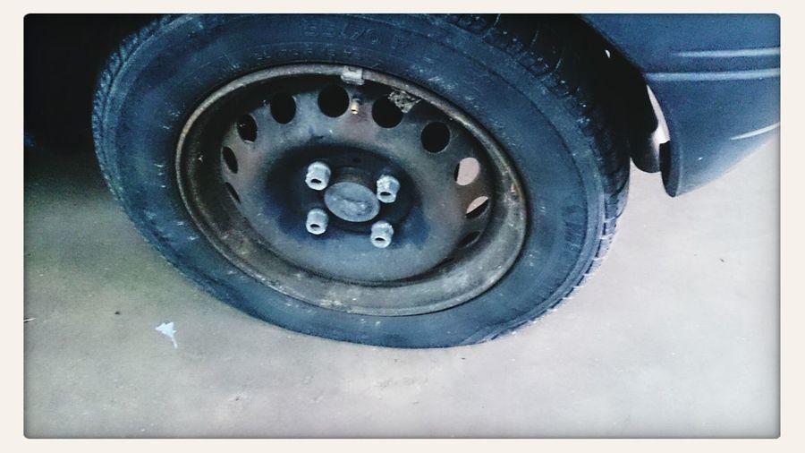 ooooppppsss Flat Tire