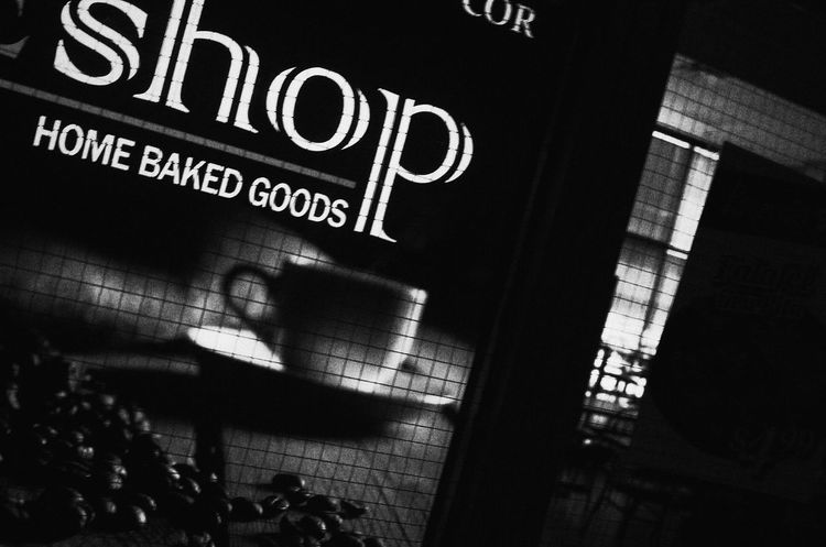 Street Photography Coffehouse Closed