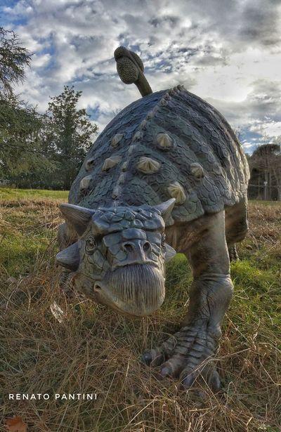 Tarchia gigantea (Ankylosauridae) Dinosauro Dinosauri Dinosaur Dinosaurs Ankylosauridae Extinct Species