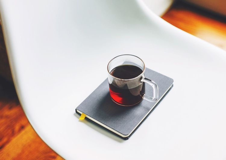 Coffee At Home Coffee Morning Light Notebook
