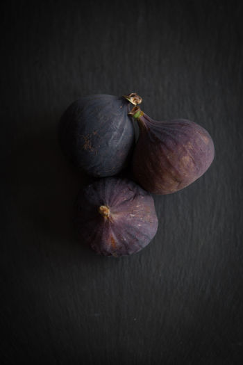 Fresh fruits, figs on a white background top view Studio Shot Healthy Eating Food Food And Drink Wellbeing Still Life Freshness Indoors  No People Close-up Fruit Two Objects Black Background Fig Vegetable Gray Colored Background Table Gray Background Organic Purple Ripe