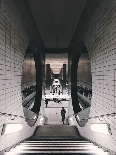 People Photography Enjoy The New Normal Subway Train Architecture Geometric Shape Exploring EyeEm Best Shots The Week Of Eyeem