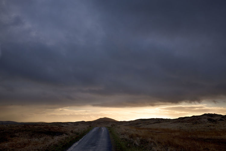 Ominous Angry Bog Boggy Hilltop Dark Dark Cloud Sunset Heavy Clouds Hill Country Thunder Thunderous Sunsets + Sunrise