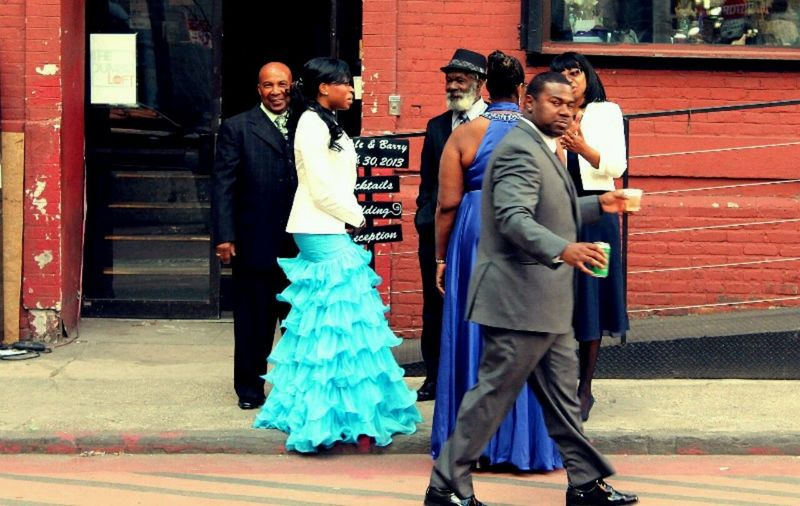 The Street Photographer - 2016 EyeEm Awards Brooklyn Wedding Guests Street Streetphotography NYC