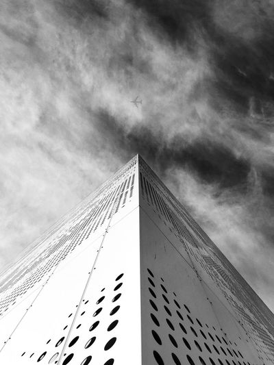 I need my current location to be your current location, fly back to me! Copenhagen Denmark Sky Cloud - Sky Low Angle View Building Exterior Architecture Built Structure No People Travel Destinations Skyscraper Tower City Building Diminishing Perspective The Architect - 2018 EyeEm Awards