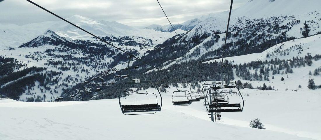 Télésiège Vars Snow ❄ Landscape EyeEm Best Shots Ski