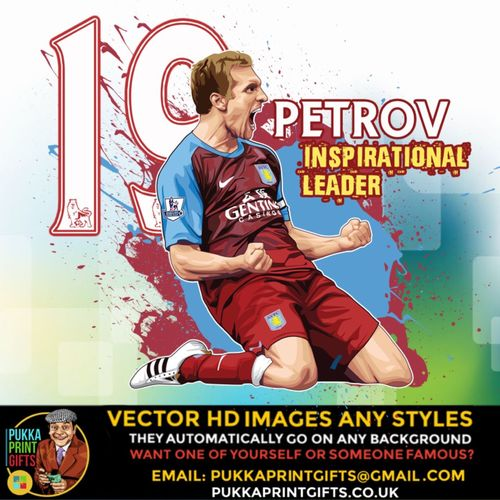 Just seen #Petrov on #Ssn #skysportsnews here's my art of him done today. Bloody love him @stanpetrov19
