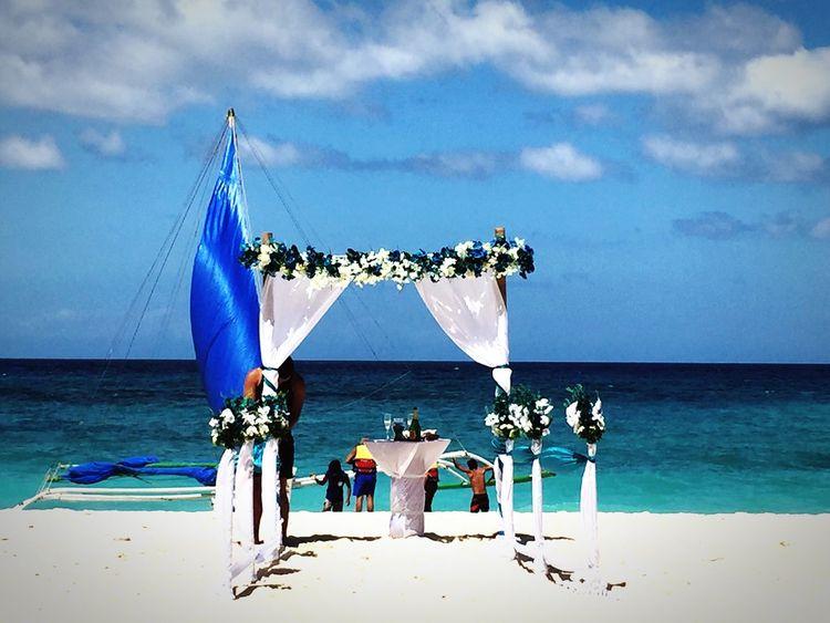 Being A Beach Bum Sea Enjoying The Sun Wedding Life Is A Beach Eyeem Philippines Boracay Enjoying The View Cloudporn Blue Sky