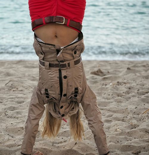 Girl Power Enjoying Life The Essence Of Summer Handstand  Outdoorwomen Having Fun