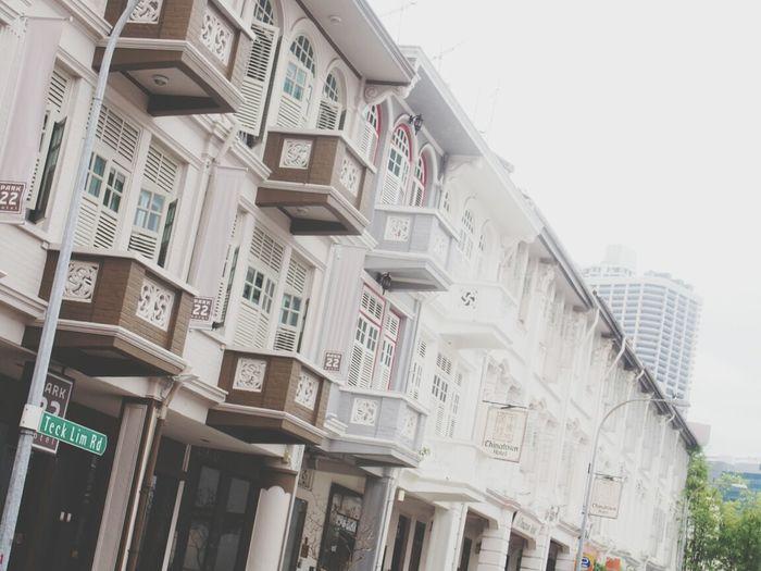 Building Buildings Vintage Singapore