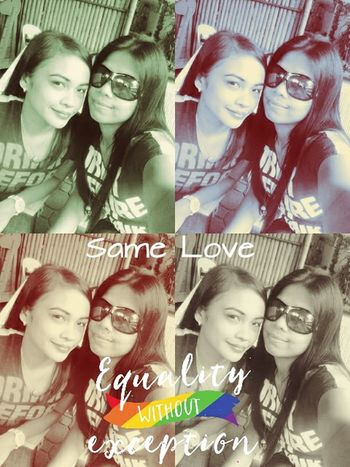 Love is God's gift. It's a precious thing to give and a priceless one to receive.. Same Love.... Lgbt ❤️ Lezbehonest Beautiful Love This Is Us :) Equality💕 Iloveher ♥