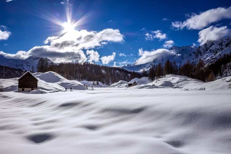 Snow Cold Temperature Sky Scenics - Nature Mountain Winter Cloud - Sky Tranquil Scene Snowcapped Mountain Tranquility Landscape Environment No People Beauty In Nature Blue Scenics Nature EyeEm Best Shots EyeEmNewHere EyeEm Nature Lover EyeEm Selects EyeEm Gallery Winter Tranquility Relaxing