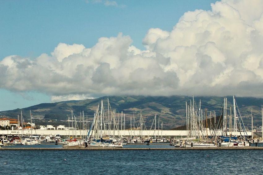 Water Cloud - Sky Sky Transportation Architecture Nautical Vessel Sea