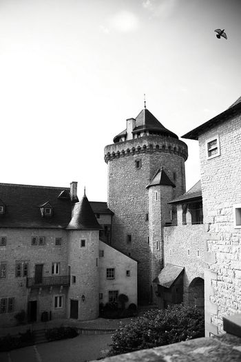 Castle Lorraine Blackandwhite