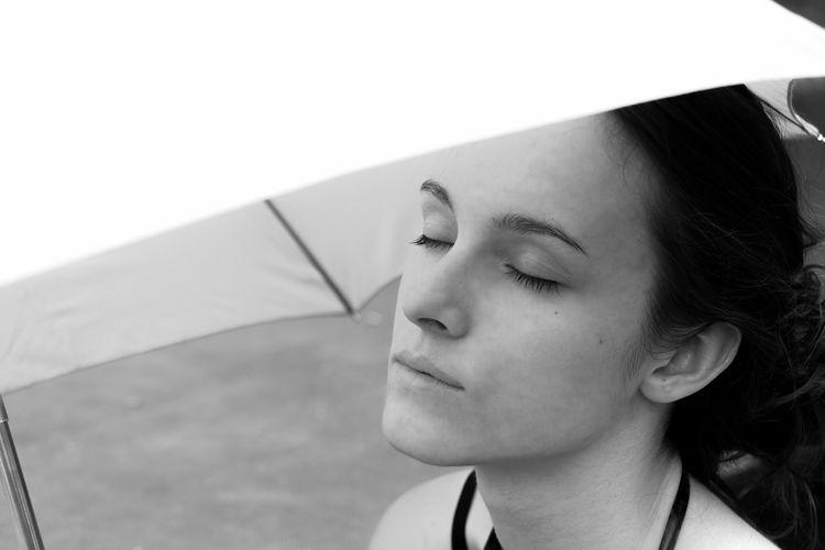 Classy portrait of a young woman showing her emotions. Emotion Emotions Emotional Blackandwhite Black And White Woman Woman Portrait Women Females Portrait Fashion Schwarzweiß Portrait Of A Woman Portrait Photography Fashion Photography Fashion Model Minimal The Street Photographer - 2019 EyeEm Awards Design Sunshine People Face The Portraitist - 2019 EyeEm Awards Young Women Airplane Headshot Beautiful Woman Portrait Beauty Close-up Umbrella Sun Lounger Rainy Season Thoughtful Beach Umbrella Thinking Pretty Sunshade The Minimalist - 2019 EyeEm Awards My Best Photo