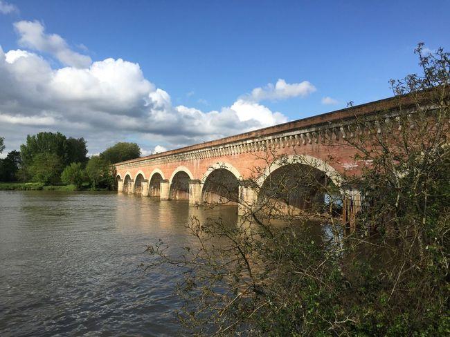 Pont-Canal près de Moissac.