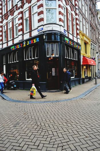 Amsterdam in colours Colour Colors Colorblocking Streetphotography Street Amasterdam Walking Architecture Building Exterior Built Structure Day Outdoors City Store First Eyeem Photo