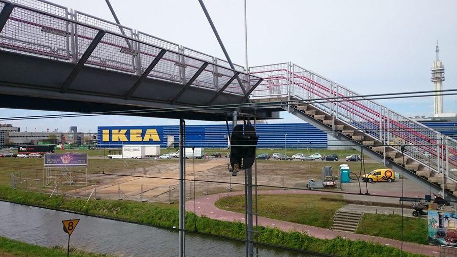 Haarlem IKEA Love Ikea Trainstation