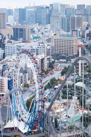 Ferris Wheel Ferriswheel Skyscraper Building Exterior Architecture Cityscape City Cityscape EyeEm Gallery Tokyo City Japan LaQua Amusement Park Amusement Park Ride Amusementpark Roller Coaster Rollercoaster Bunkyo-ku Kourakuen Tokyo Dome City Scape