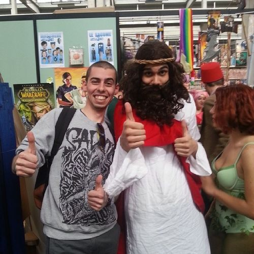 Io e il mio amico Gesù Instages ù Instadivinit á Instablasfemia Instahippie instahovinto torinocomics2014 unsaccodipazzi flint