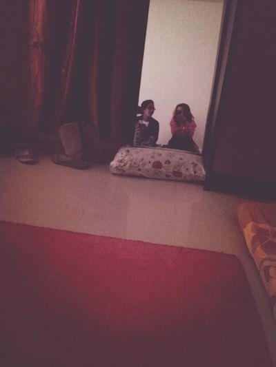 "our ""hangout"" room. good memories."